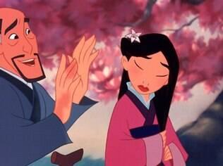 Crianças tiveram dificuldades em reconhecer Mulan como princesa