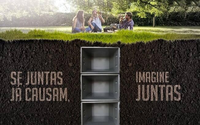 Cemitério Jardim da Ressurreição usa a temática para fazer memes e internet aprova