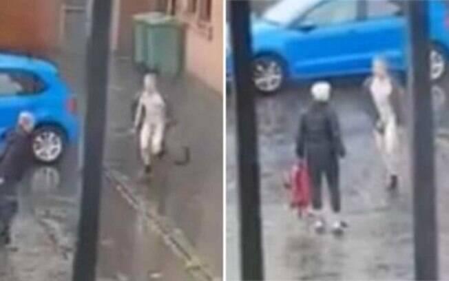 Após o ataque em Glasgow, Jason King foi levado pelas autoridades escocesas