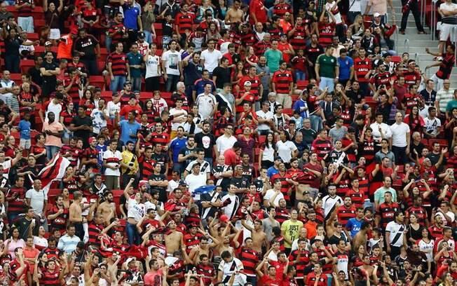 Torcidas de Vasco e Flamengo juntas em Brasília