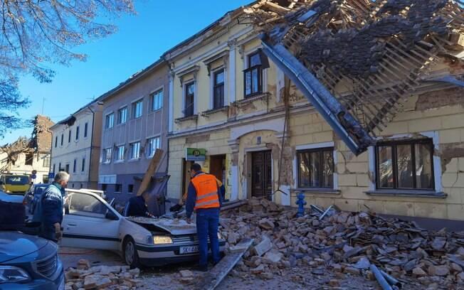 Novo tremor foi o mais forte do ano, atingindo 6,4 graus na Escala Richter