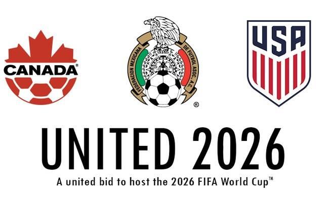 Canadá, México, EUA sediarão a edição da Copa 2026