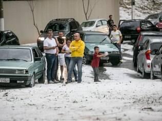 No domingo (18), uma forte chuva de granizo atingiu a região Sul da cidade de São Paulo