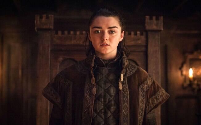 Intensa, vingativa e quente, Arya Stark tem mostrado um comportamento escorpiano durante a temporada da série