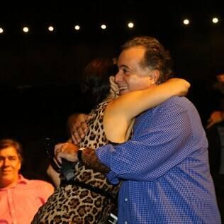 Tony Ramos e Glória Pires
