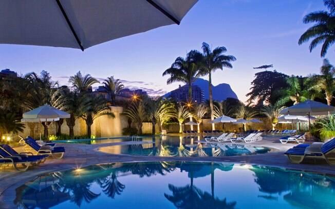 A piscina do Sheraton Barra foi eleita como a