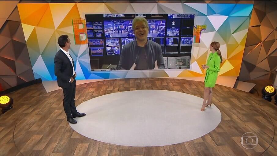 Boninho anunciou oficialmente o novo apresentador do Big Brother Brasil