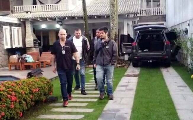Chefe de milícia foi preso em mansão na Barra da Tijuca