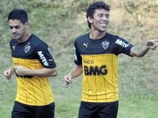 Foco total. Mesmo com a grande sequência de jogos, o volante Josué e o lateral Marcos Rocha devem jogar para buscar o segundo lugar