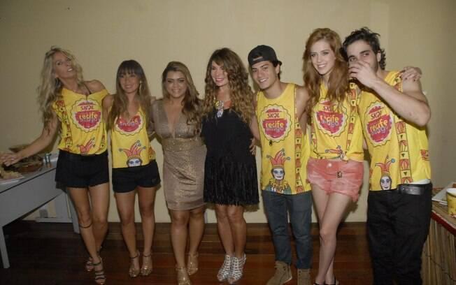 Famosos no show da Preta Gil e Elba Ramalho em Recife