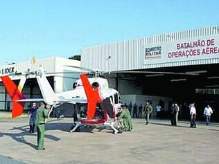 Helicóptero de última geração só foi usado para treinamentos