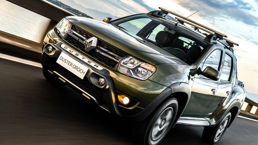 Renault Duster Oroch pode levar 683 litros na caçamba; modelo aguarda nova geração, nos moldes do SUV Duster
