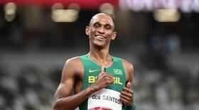 Alison dos Santos bate recorde e é chance de ouro no atletismo