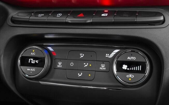 Ar-condicionado digital garante mais precisão, e contribui até para a economia de combustível