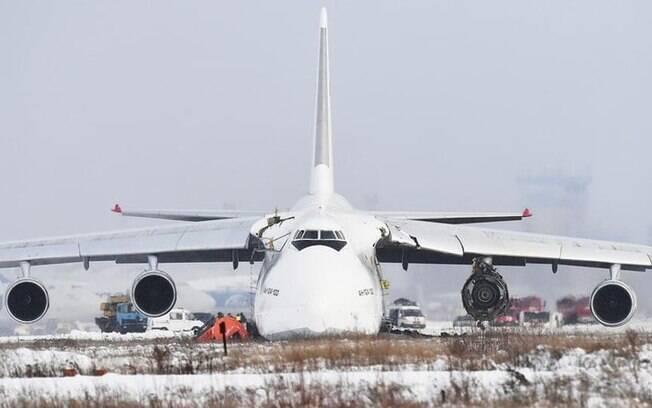 Companhia russa reativa Antonov 124 aps deix-los parados por conta de grave incidente