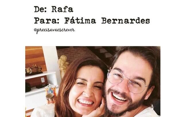Fã escreve carta aberta sobre separação de Fátima Bernardes e William Bonner