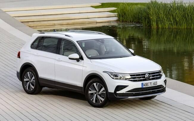 VW Tiguan eHybrid tem conjunto mecânico de 245 cv e pode rodar até 50 km no modo elétrico