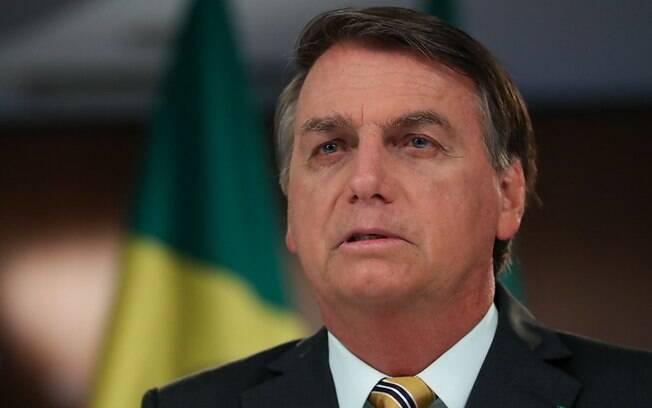 Bolsonaro voltou a criticar quem fala em vacinação obrigatória no Brasil