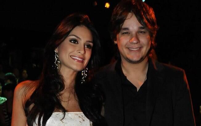Natália Guimarães, Miss Brasil 2007, e Leandro: juntos desde 2008