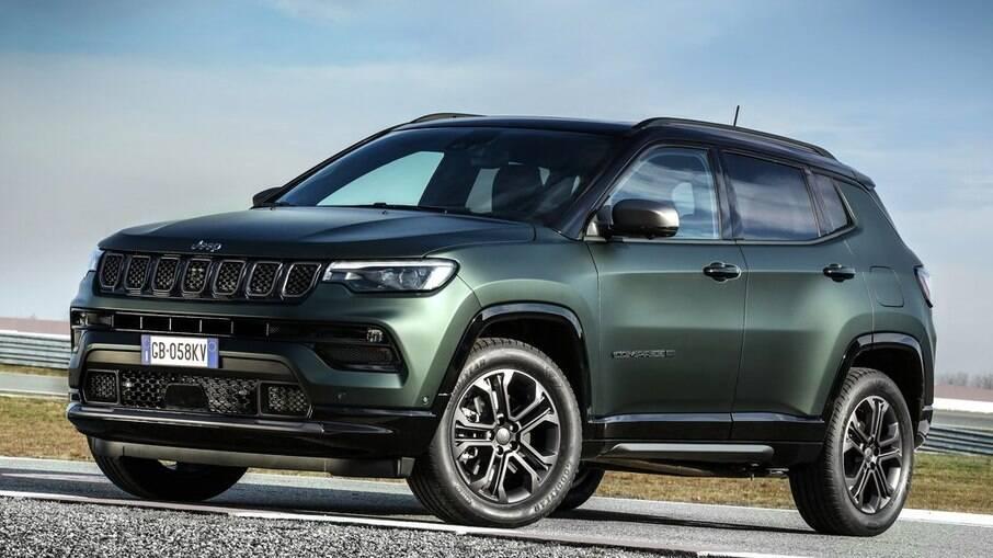 Jeep Compass Série Especial 80 Anos chega em pré-venda por R$ 162.990, já com novo motor turbo e visual atualizado