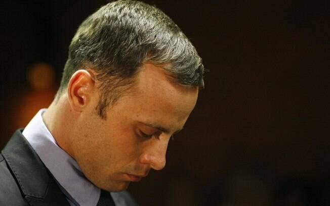 Durante a semana, Oscar Pistorius comparece  todos os dias ao tribunal em Pretória, na África  do Sul