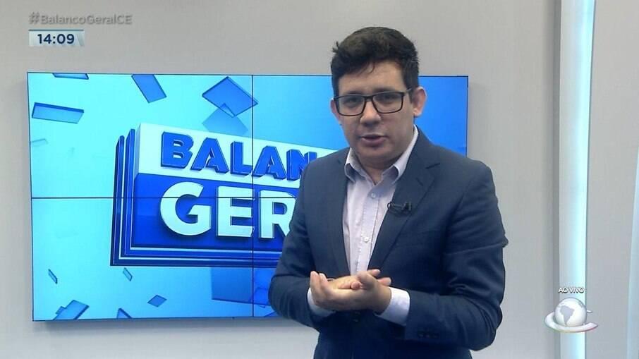 Erlan Bastos é sucesso no 'Balanço Geral' no Ceará