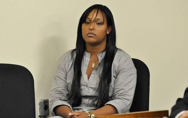 Dayanne acompanha depoimento de ex-marido nesta quarta-feira (6)