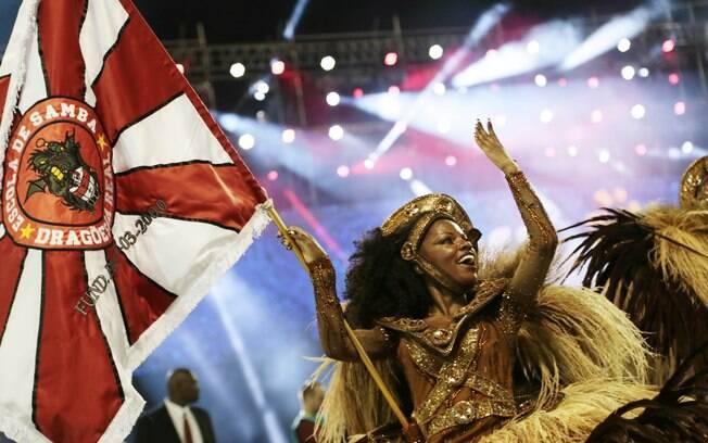 A Dragões da Real foi a melhor escola entre as organizadas no carnaval de São Paulo