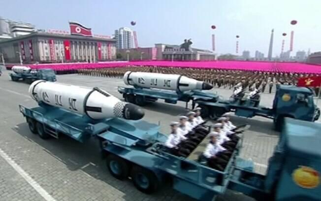 Coreia do Norte falhou lançamento de míssil