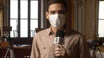 Afiliada da Globo erra e troca nome do repórter por palavrão: