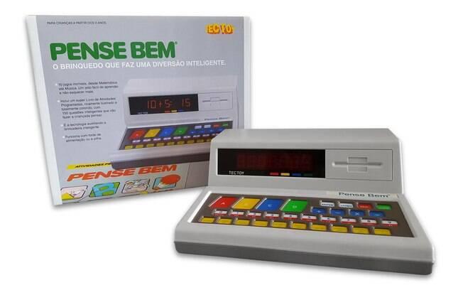 Caixa do novo Pense Bem também é inspirada na versão original do brinquedo, lançada em 1988