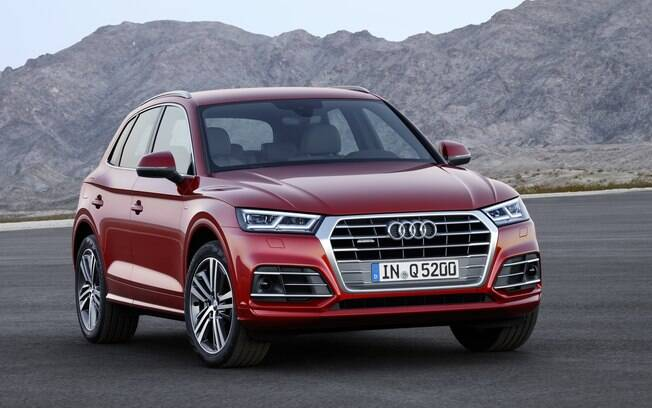 O novo Audi Q5 aposta em quatro opções de motorização diesel e apenas uma abastecida com gasolina, de 252 cv.