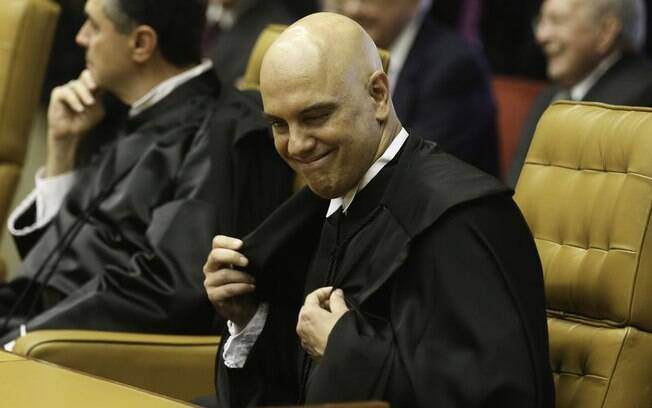 Alexandre de Moraes é relator do inquérito das fake news do STF