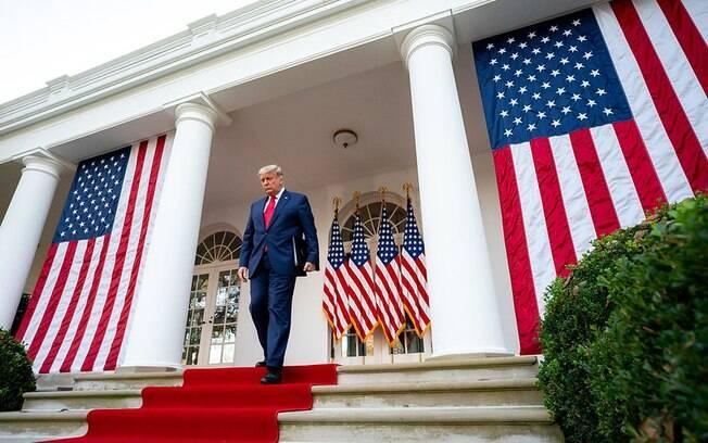 Trump diz que sairá da Casa Branca se perder no Colégio Eleitoral