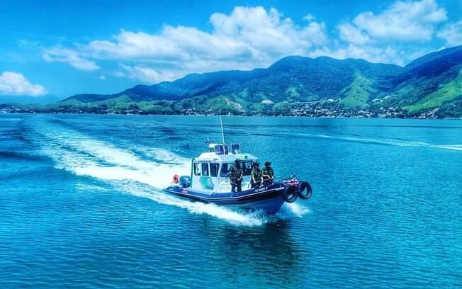 O Policiamento marítimo conta com 6 embarcações para cuidar do litoral paulista