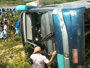 Ônibus saiu de Boa Viagem, interior do Ceará  e seguia para Fortaleza