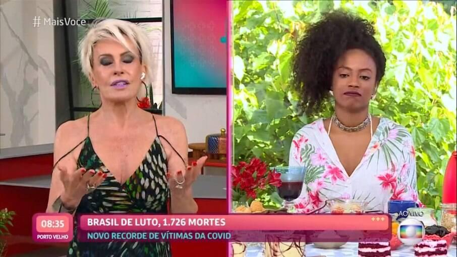 Ana Maria Braga entrevista Lumena no