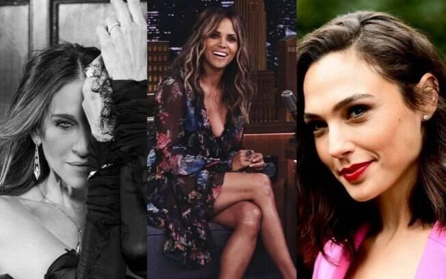 Sarah Jessica, Halle Berry e Gal Gadot são algumas das famosas que são mamães e você nunca imaginou