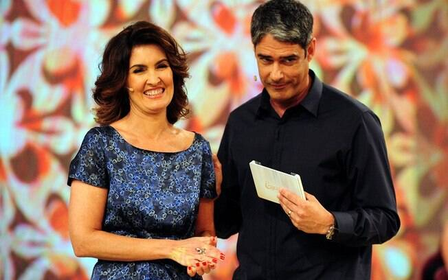 William Bonner e Fátima Bernardes