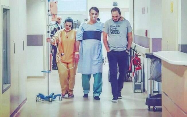 Jair Bolsonaro passou 23 dias internado e foi submetido a duas cirurgias após ser alvo de facada