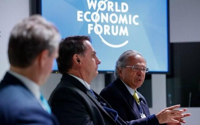 Em almoço, Paulo Guedes enfatizou o ideal privatista do governo, mas sem mencionar empresas ou setores específicos