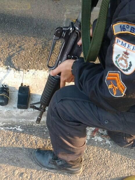 Além de ataque no centro do Rio de Janeiro, Polícia Militar também apreendeu granada na Cidade Alta