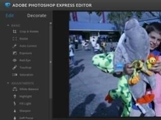 Photoshop tem versão mais leve para a web