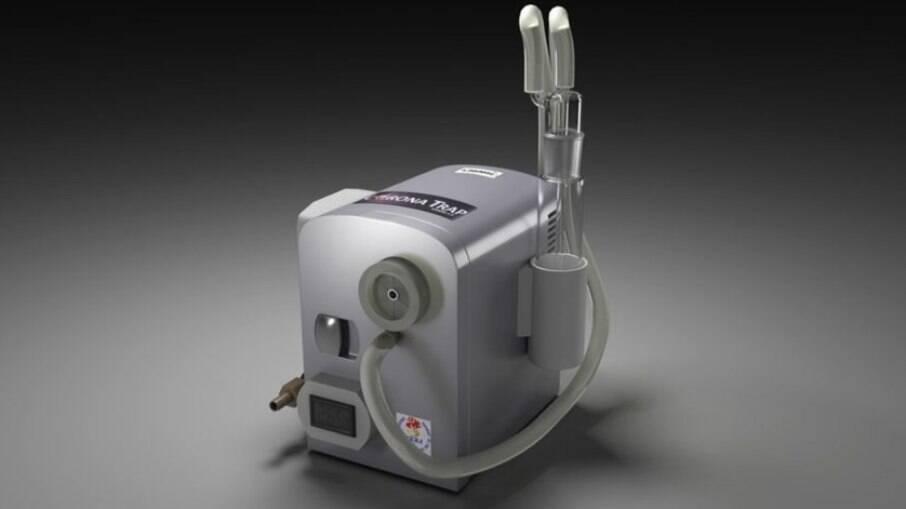 CoronaTrap, equipamento desenvolvido pela UERJ