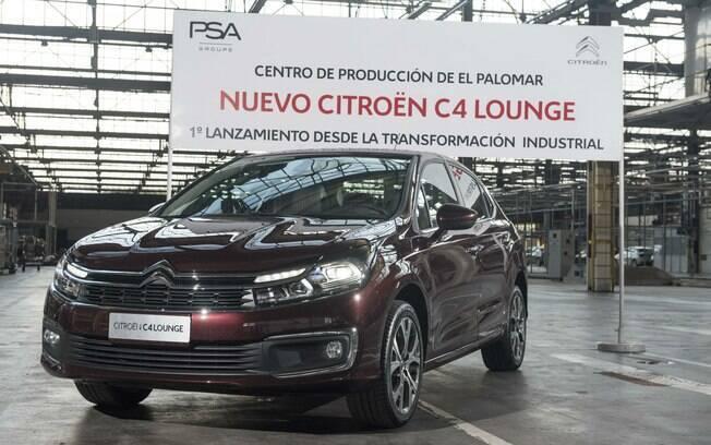 Citroën  C4 Lounge : versão renovada já está com a chegada confirmada ao Brasil em abril, vinda da Argentina