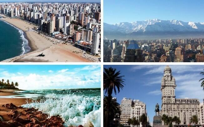 Levantamento aponta quais os 10 lugares baratos para viajar na América Latina; confira e planeje sua próxima viagem