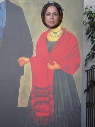 Daniela Mercury como Frida Kahlo