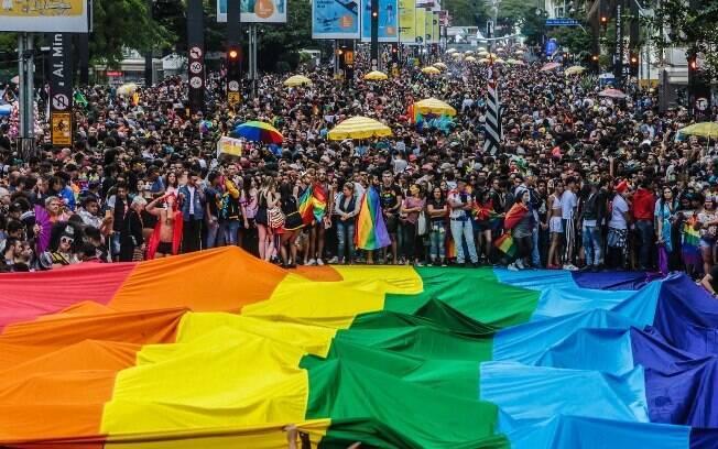 Público total esperado no evento – outrora conhecido como Parada Gay – é de 3 milhões de pessoas na Avenida Paulista
