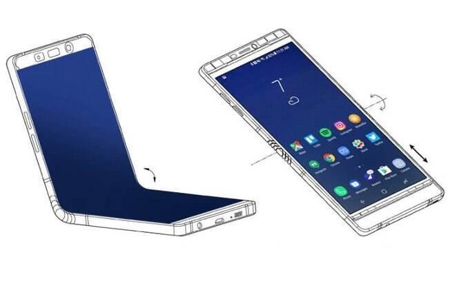 Chefe da divisão mobile da Samsung, DJ Koh, disse que um aparelho dobrável da Samsung deve ser lançado em 2019