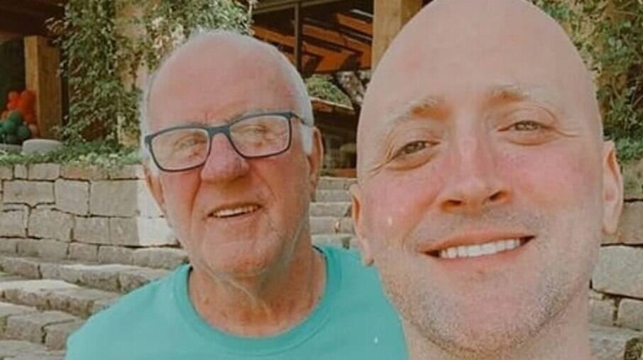 Pai do ator Paulo Gustavo pede orações para o filho internado com Covid-19